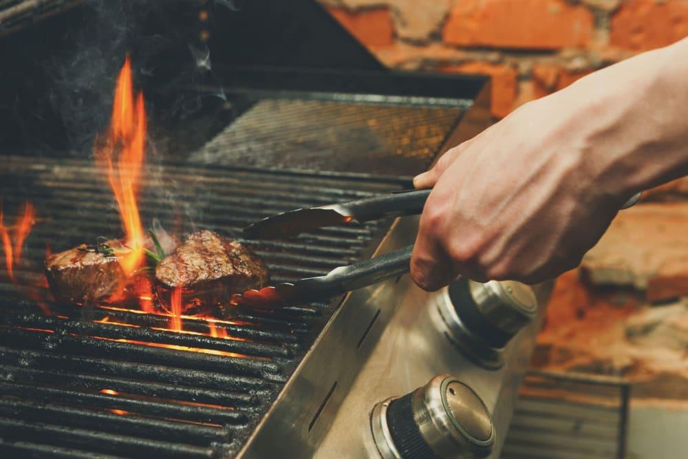 BBQ grill at Sentio in Phoenix, Arizona