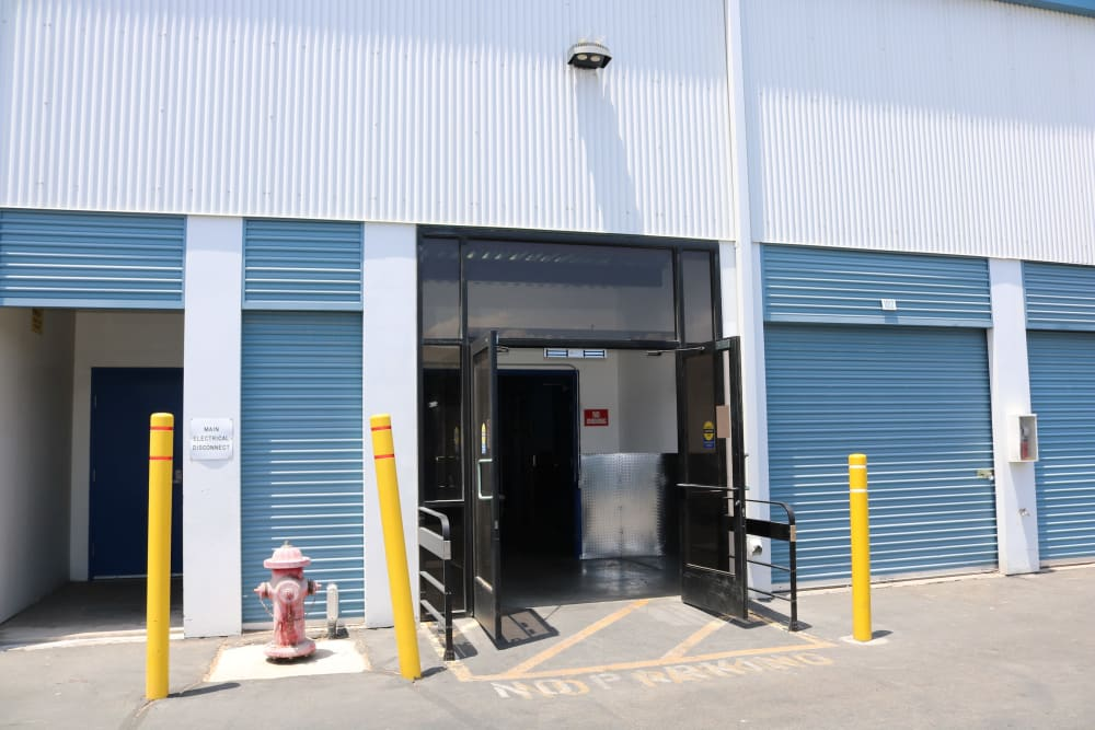 Outdoor units at Golden State Storage - Tropicana