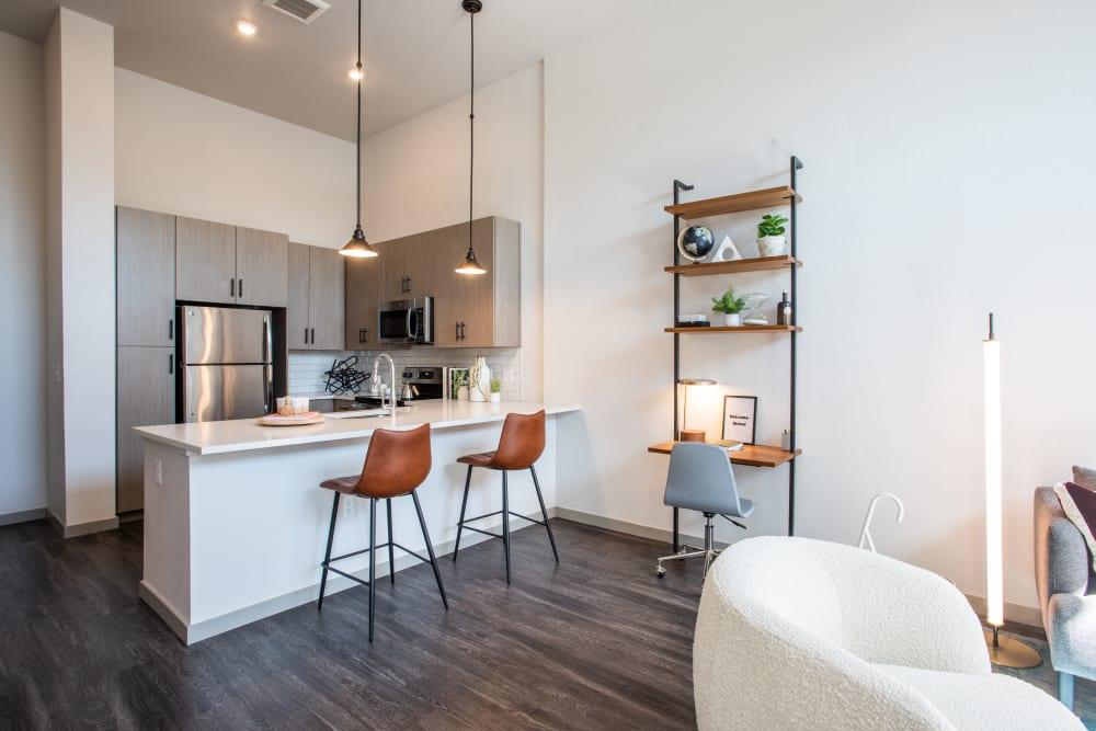 Open, spacious floor plan at Marq Iliff Station in Aurora, Colorado
