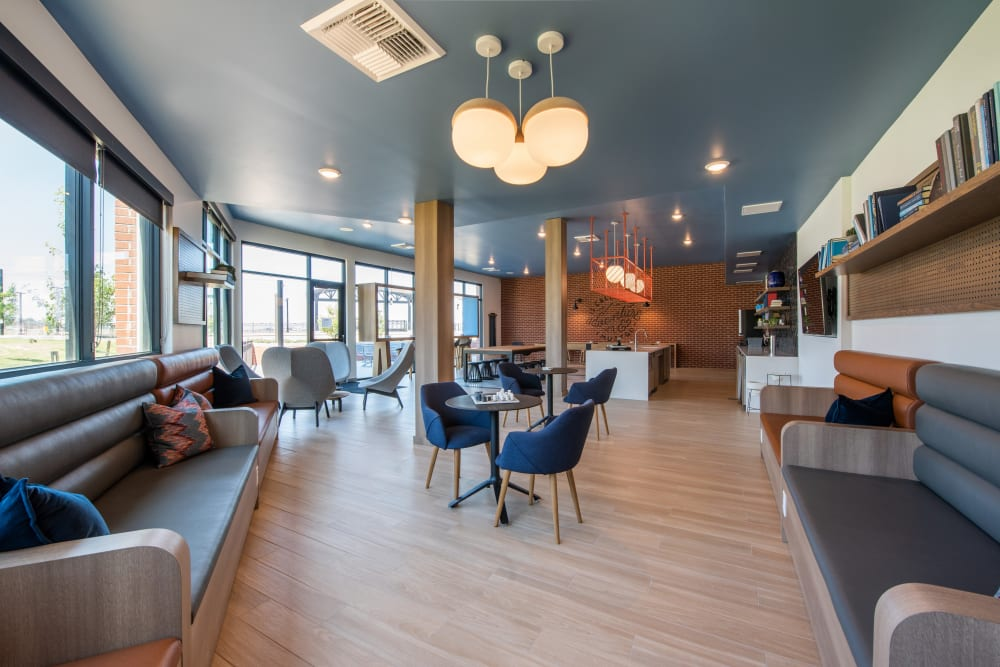 Clubroom at Marq Iliff Station in Aurora, Colorado