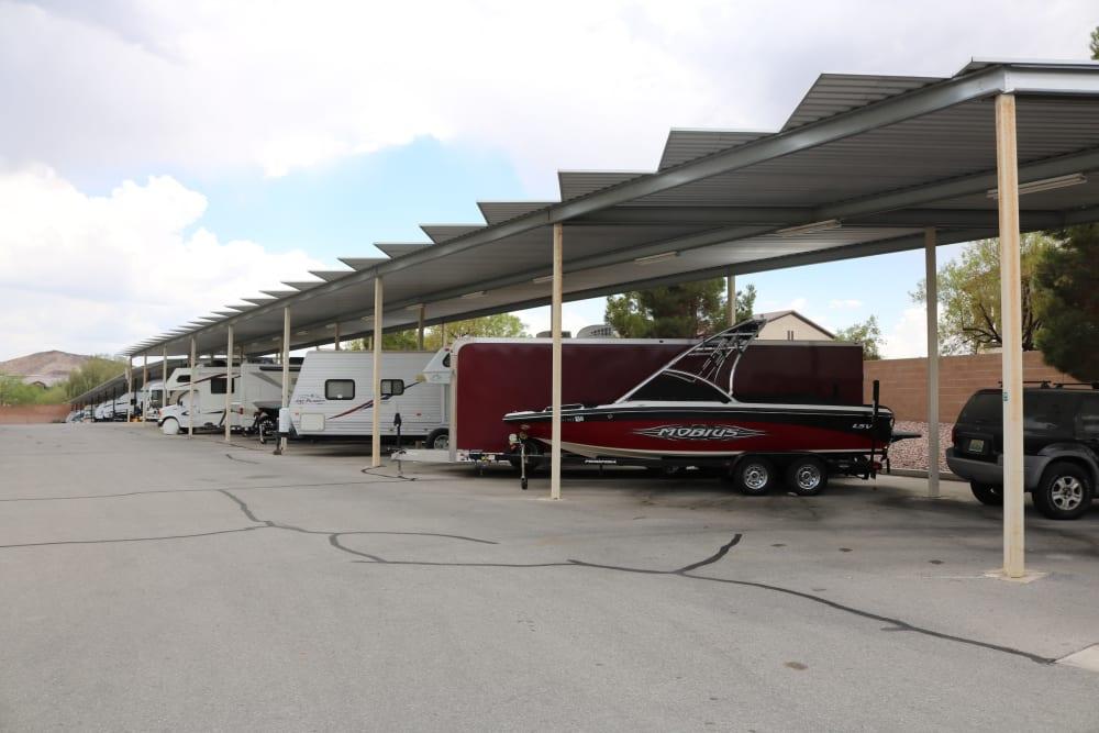 RV storage at Golden State Storage - Horizon Ridge