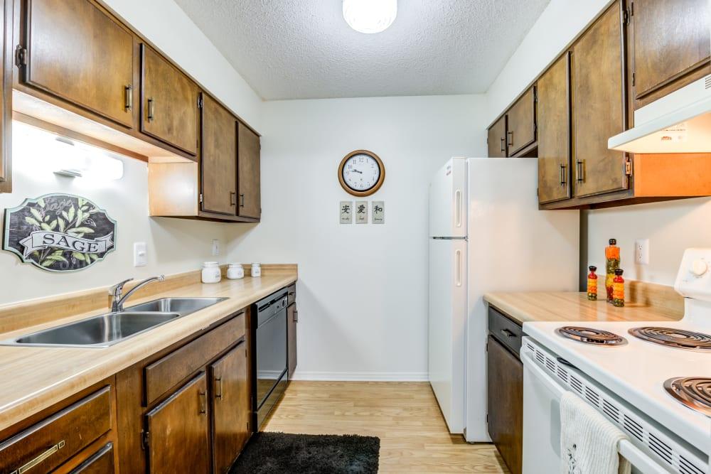 Standard Kitchen Package at Village Green Apartments in Evansville, IN