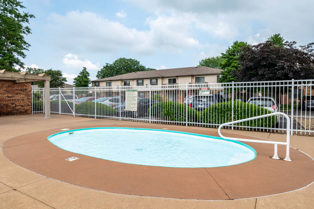Kiddie Pool at Village Green Apartments in Evansville, IN