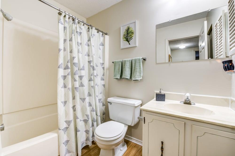 Standard Bathroom Package at Village Green Apartments in Evansville, IN
