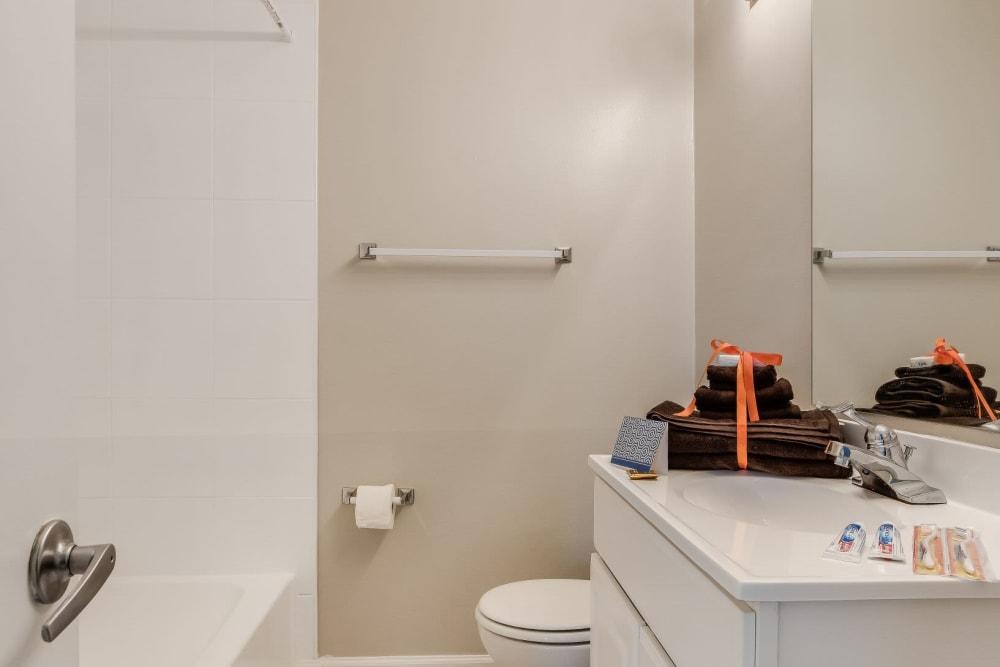 Bathroom at Colonial Village