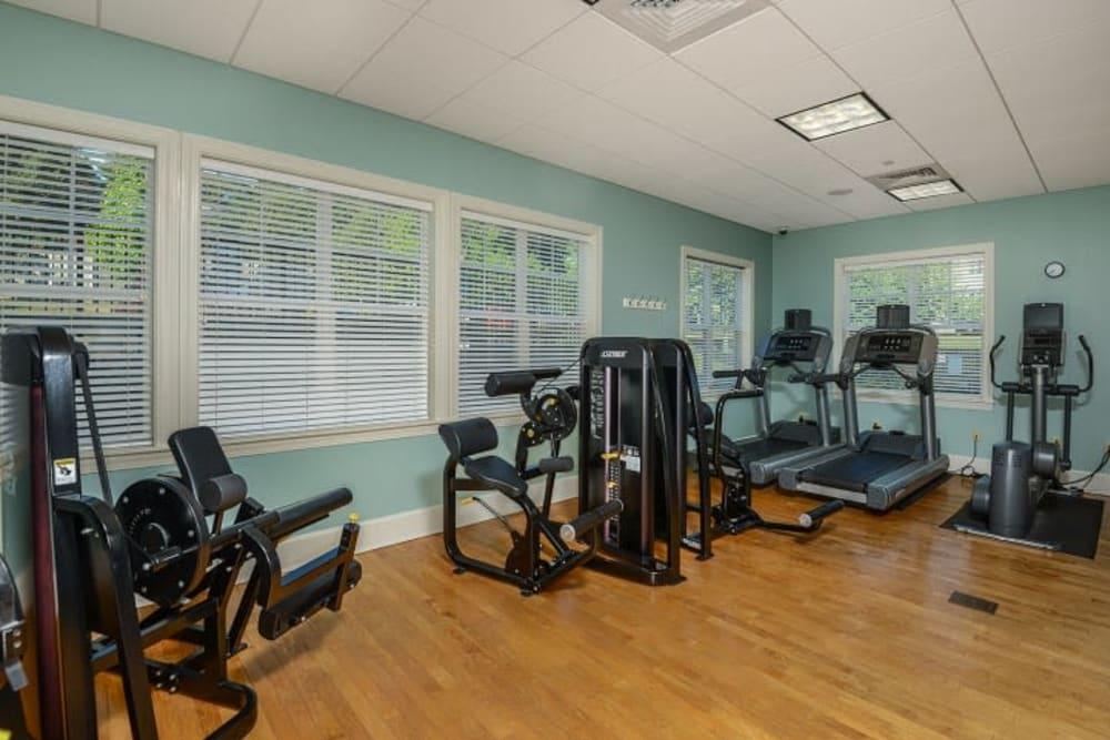 Fitness room at Sofi Danvers in Danvers, Massachusetts