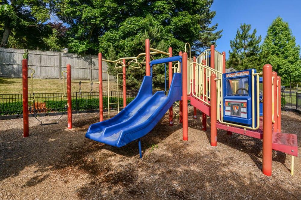 Children's outdoor playground at Sofi Danvers in Danvers, Massachusetts