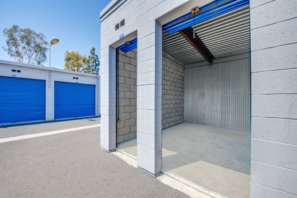 Unit with doors rolled up Storage Etc... Rosemead in Rosemead, California