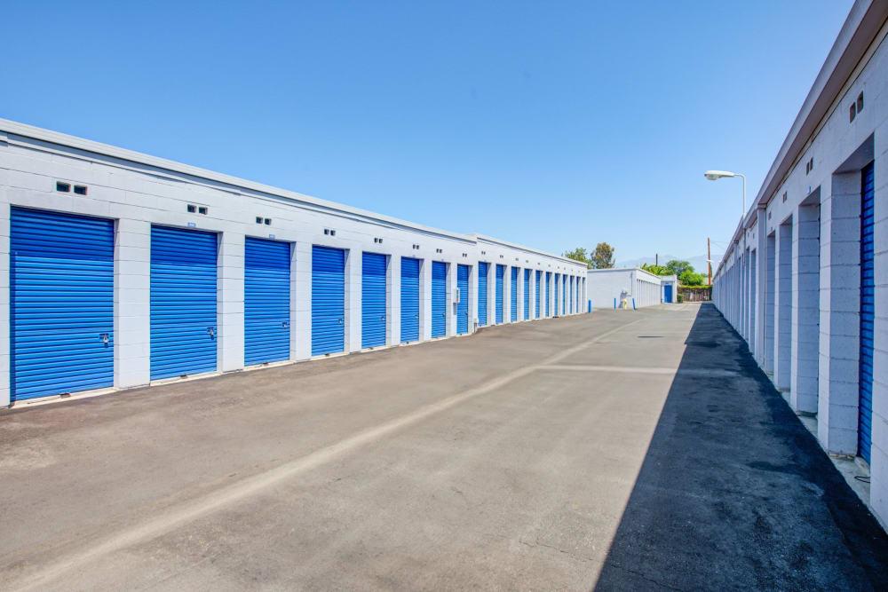 Rows of units at Storage Etc... Rosemead in Rosemead, California