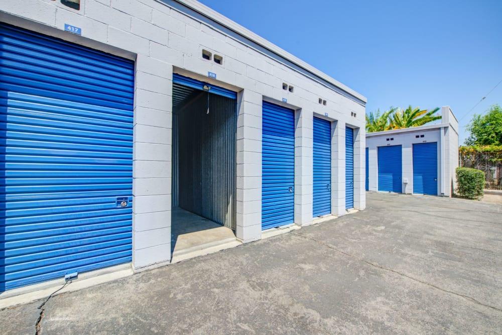 Drive up units at Storage Etc... Rosemead in Rosemead, California