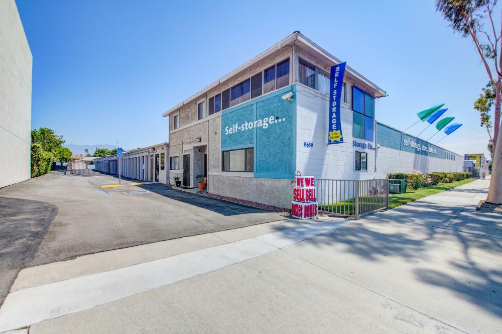Leasing office exterior at Storage Etc... Rosemead in Rosemead, California