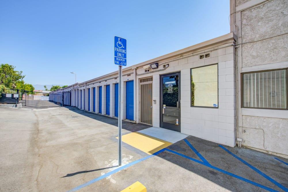 Office entrance at Storage Etc... Rosemead in Rosemead, California