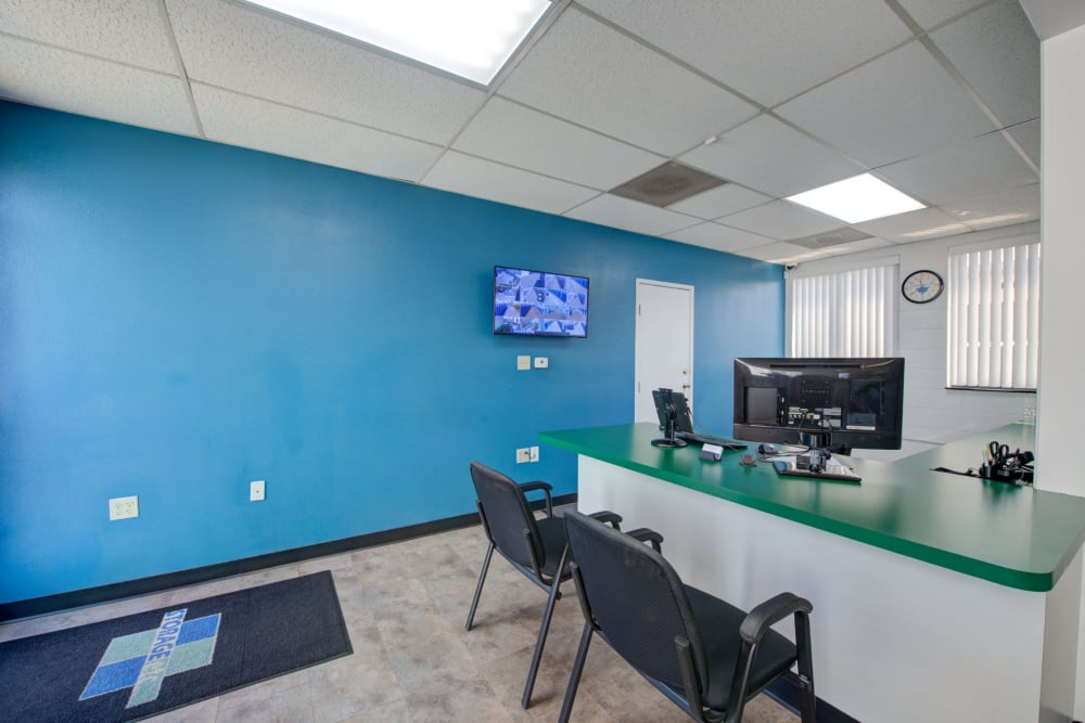 Leasing office at Storage Etc... Rosemead in Rosemead, California