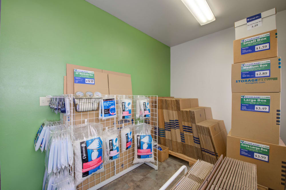 Packing and moving supplies at Storage Etc... Rosemead in Rosemead, California