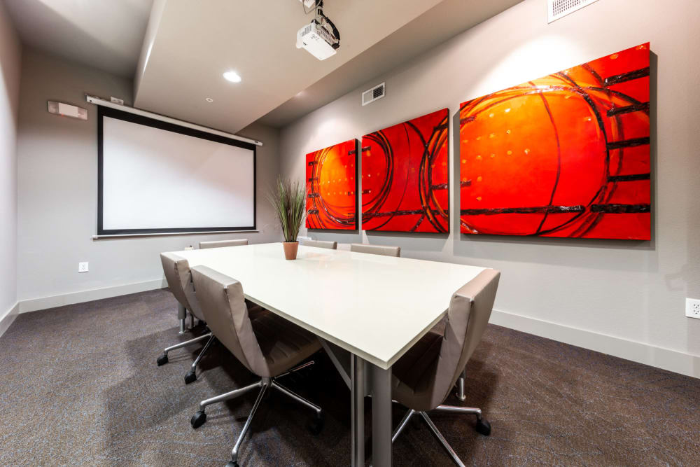 Conference room at The Marquis of State Thomas in Dallas, Texas