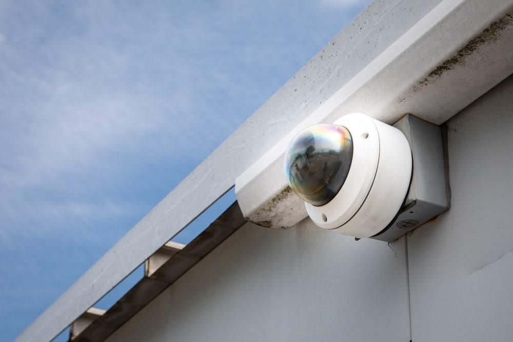 Camera for video surveillance at AAA Self Storage of Thomasville in Thomasville, North Carolina