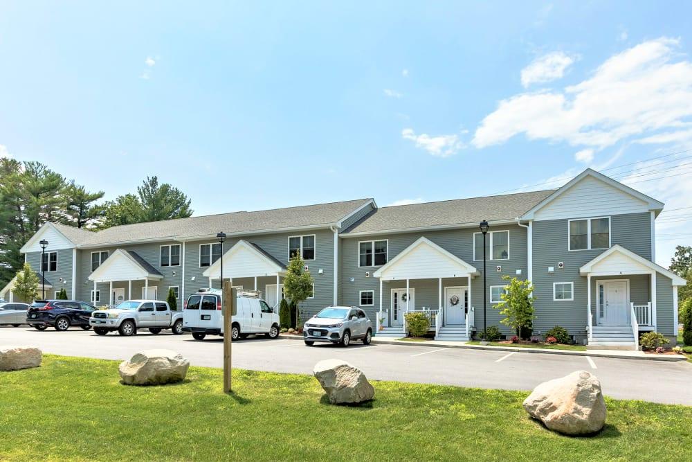 View of housing at Eagle Rock Apartments at Nashua in Nashua, New Hampshire