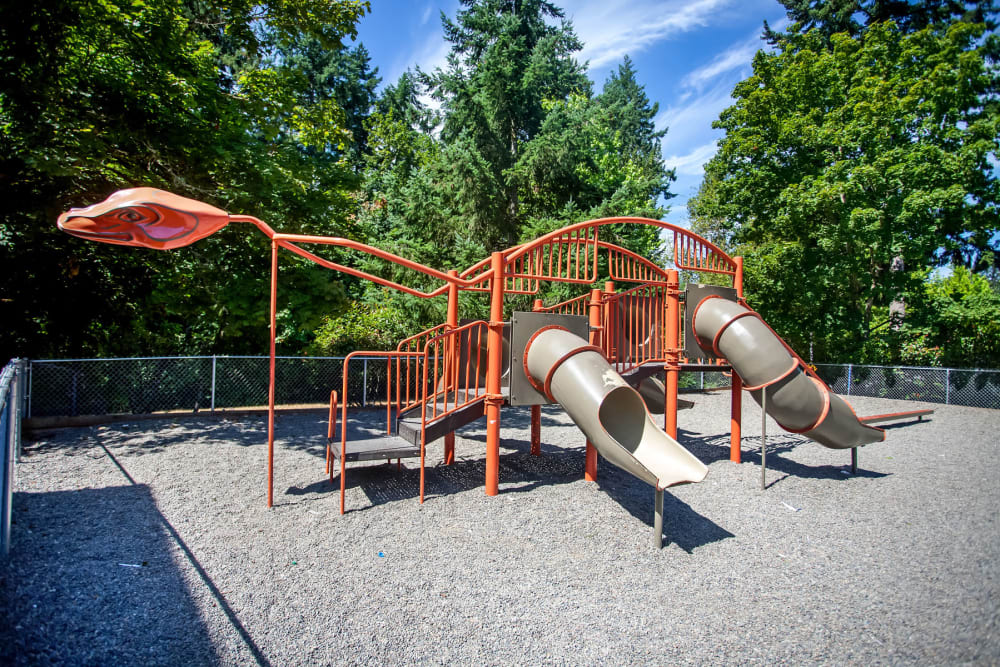 Onsite children's playground at Haven Apartment Homes in Kent, Washington
