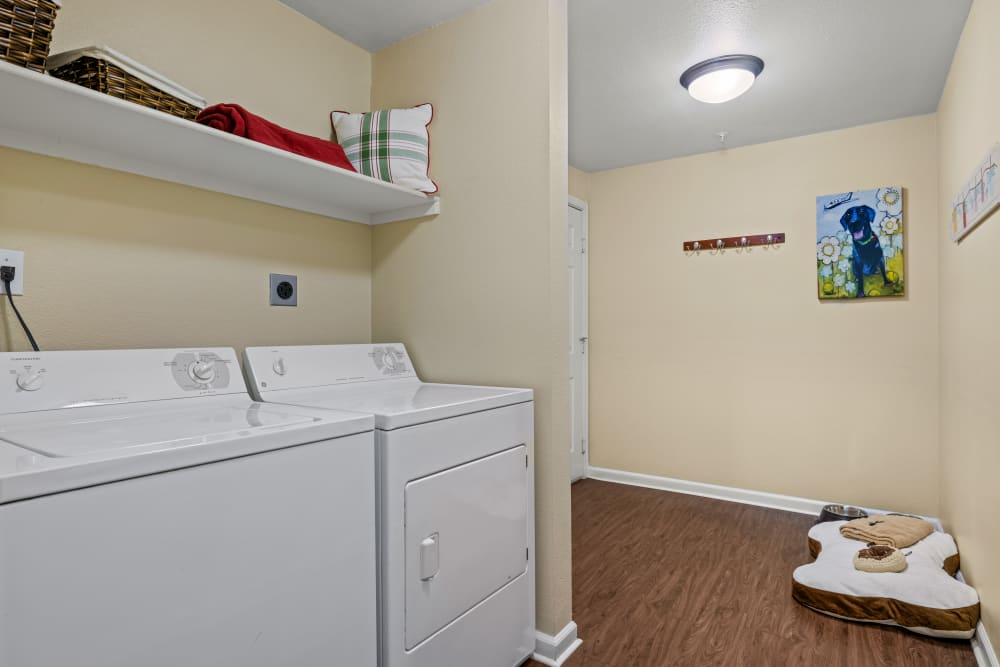 In unit washer and dryer at Marquis at Town Centre
