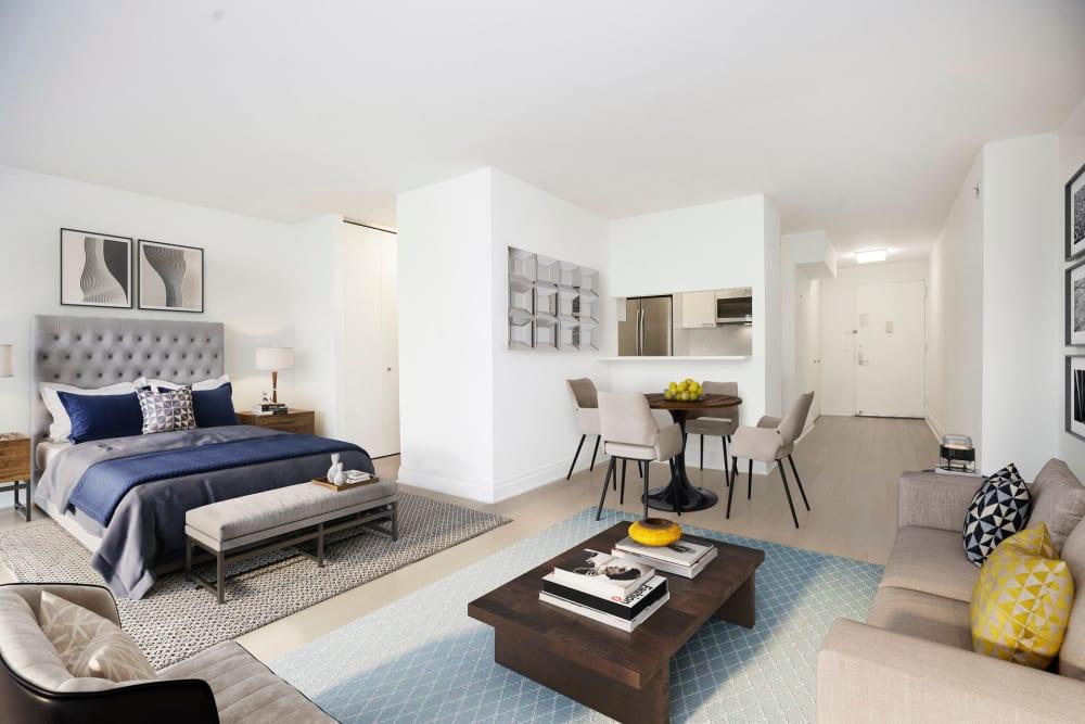 Modern studio apartment at The Ventura in New York, New York