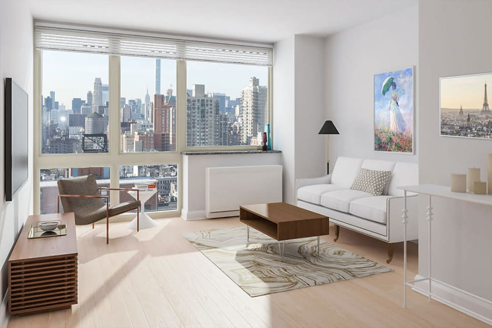 Gorgeous model home with an incredible view at The Ventura in New York, New York
