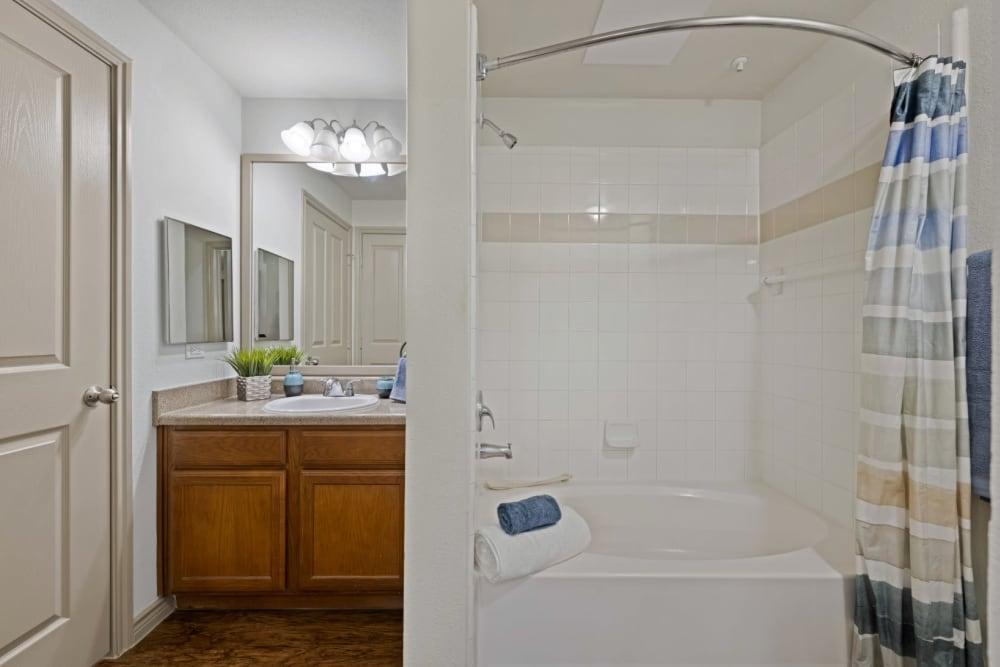 Bathroom at The Marquis at Brushy Creek