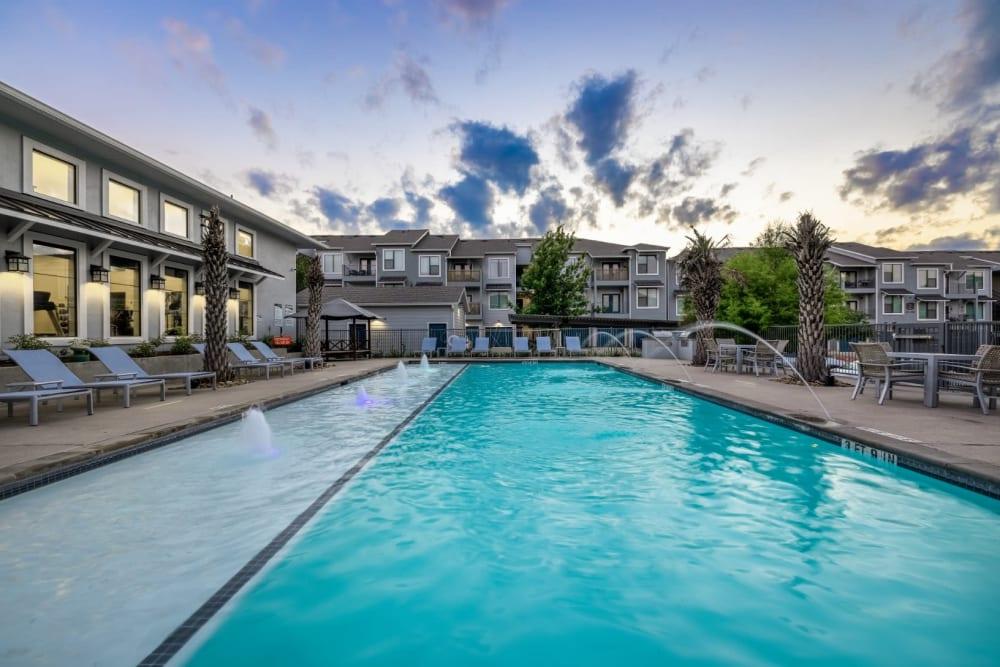 Pool at Marquis SoCo