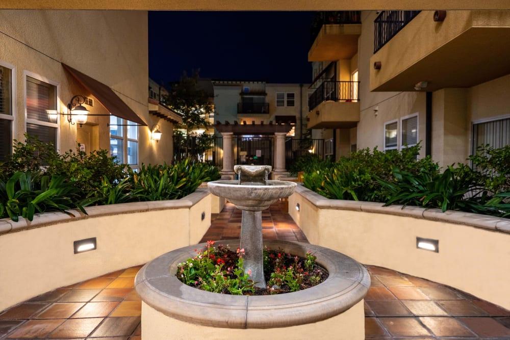 Exterior Shot of The Villagio in Northridge, California