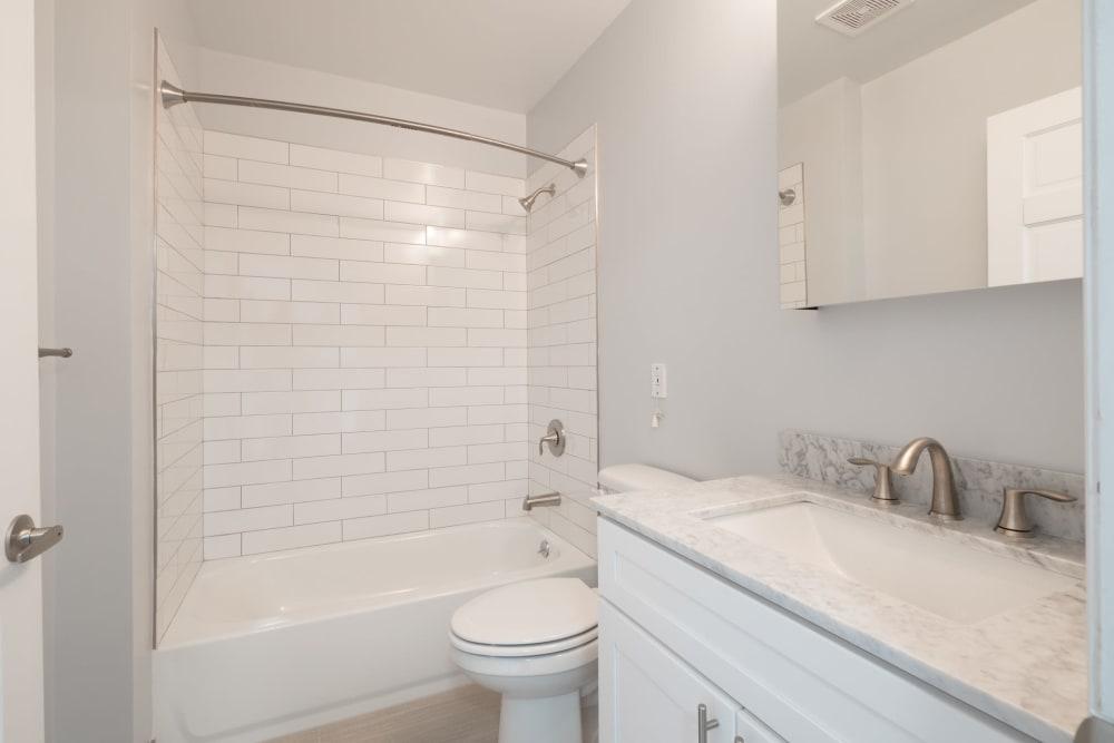 Bathroom at Bunt Commons II in Copiague, New York