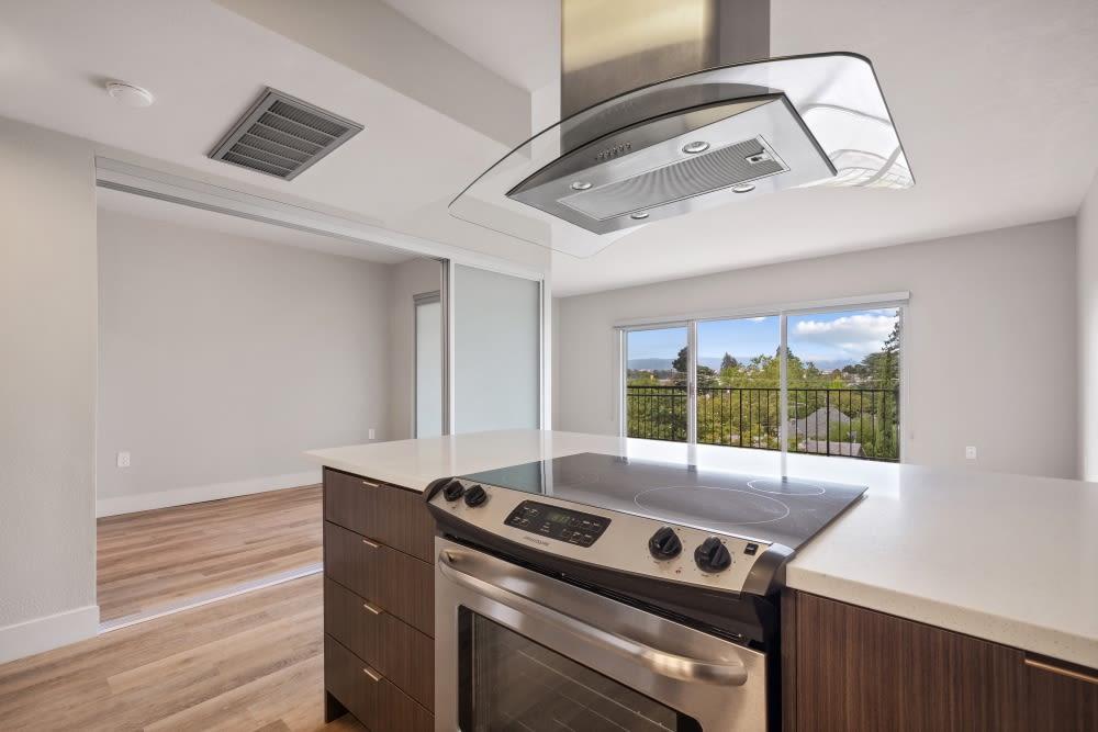 Luxury kitchen at Mia in Palo Alto, California