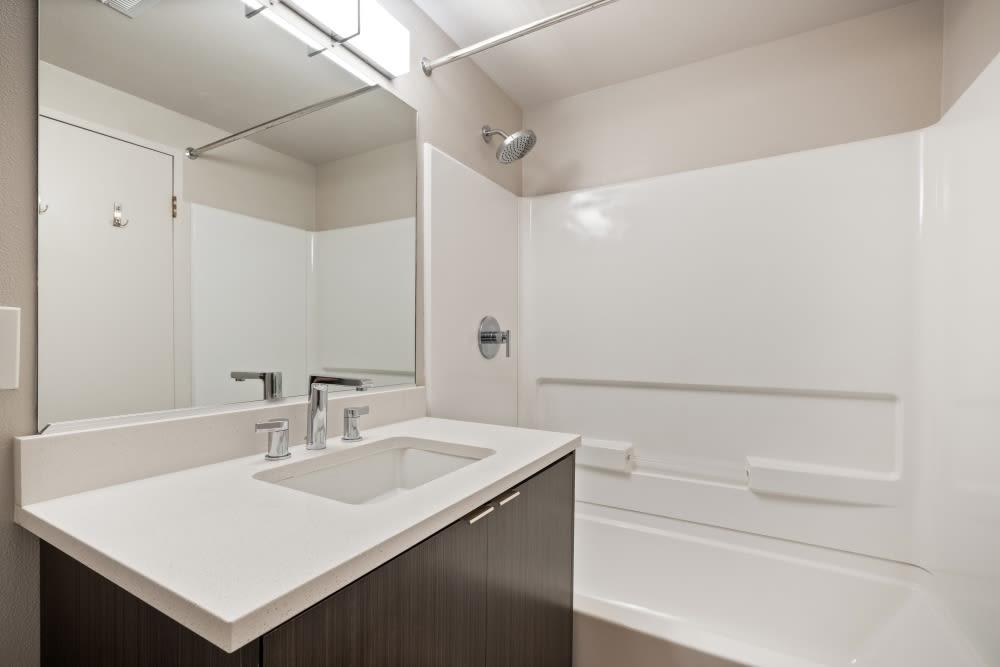 Bathroom at Mia in Palo Alto, California