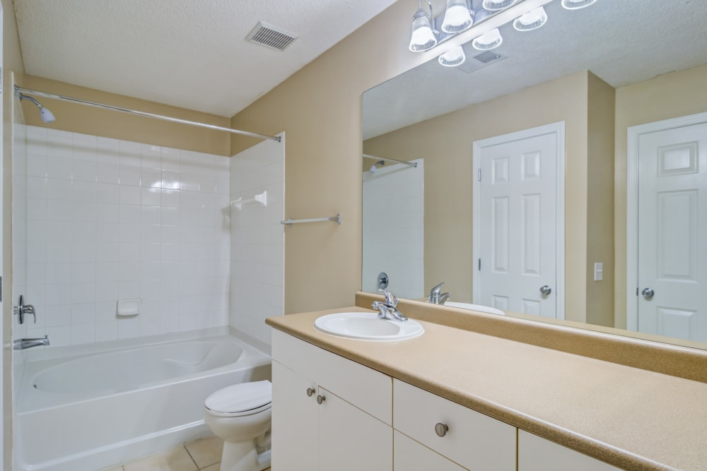 Bathroom at Beechwood Pines in Athens, GA