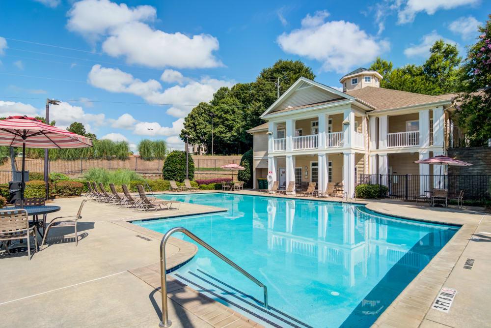 Sparkling Swimming Pool at Beechwood Pines in Athens, GA