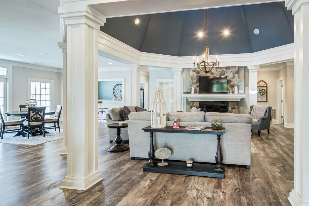 Beautifully remodeled clubhouse at Beechwood Pines in Athens, GA