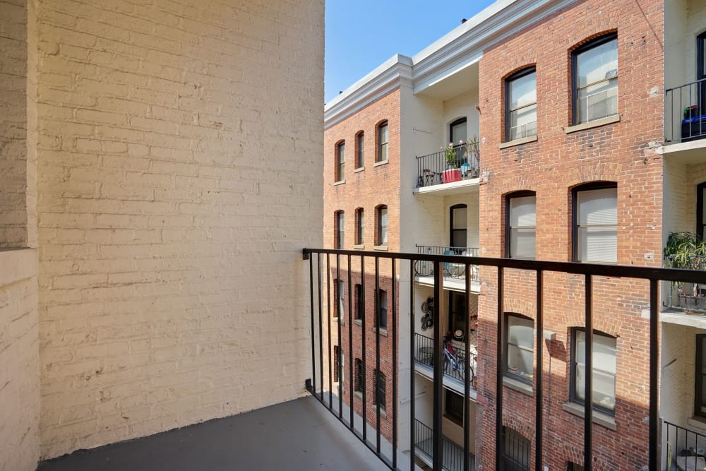 Private balcony at R Street