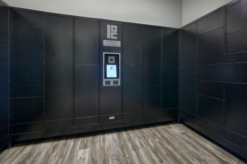 Package Lockers at Crestone Apartments in Aurora, Colorado