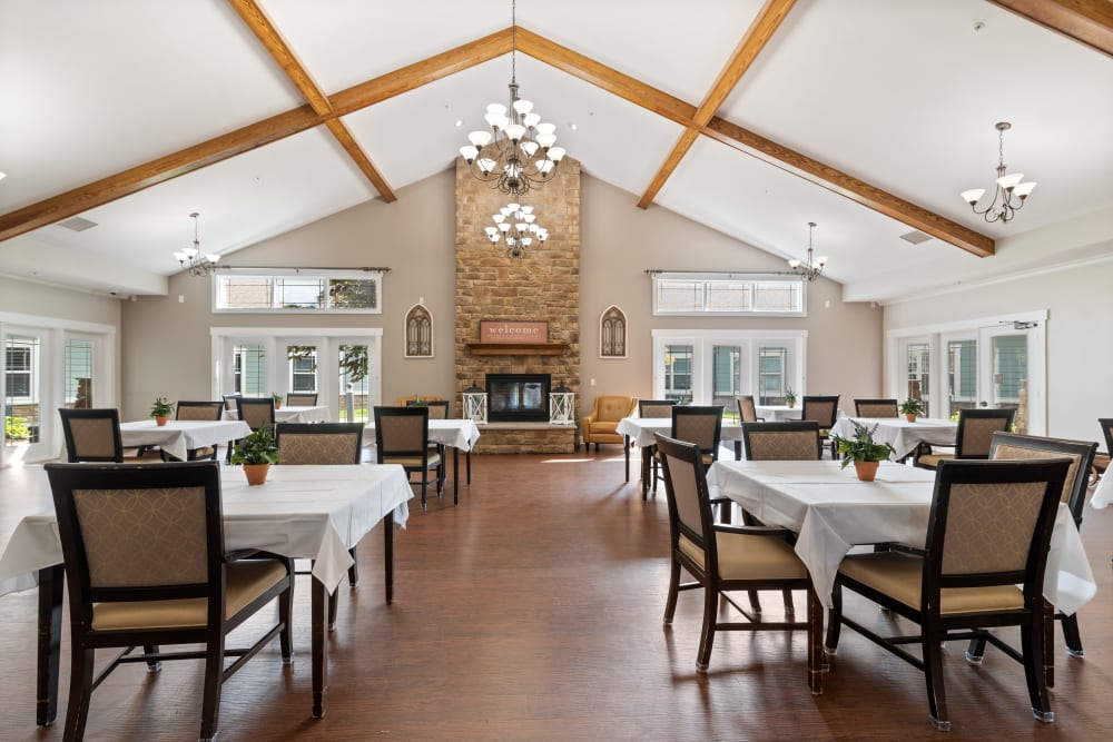 Dining room at Truewood by Merrill, Powell in Powell, TN