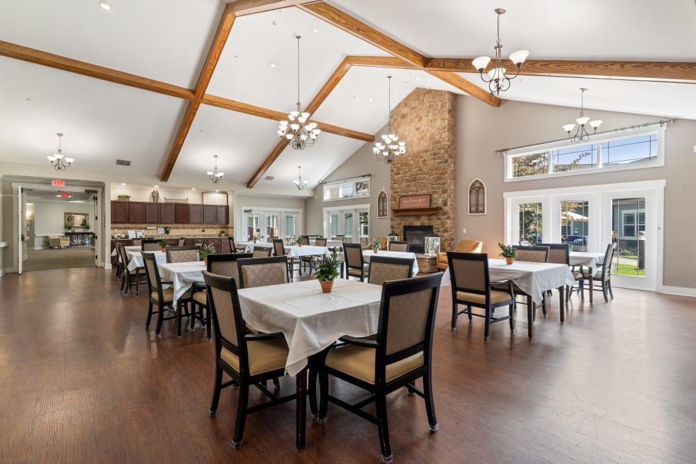 Beautiful dining room at Truewood by Merrill, Powell in Powell, TN