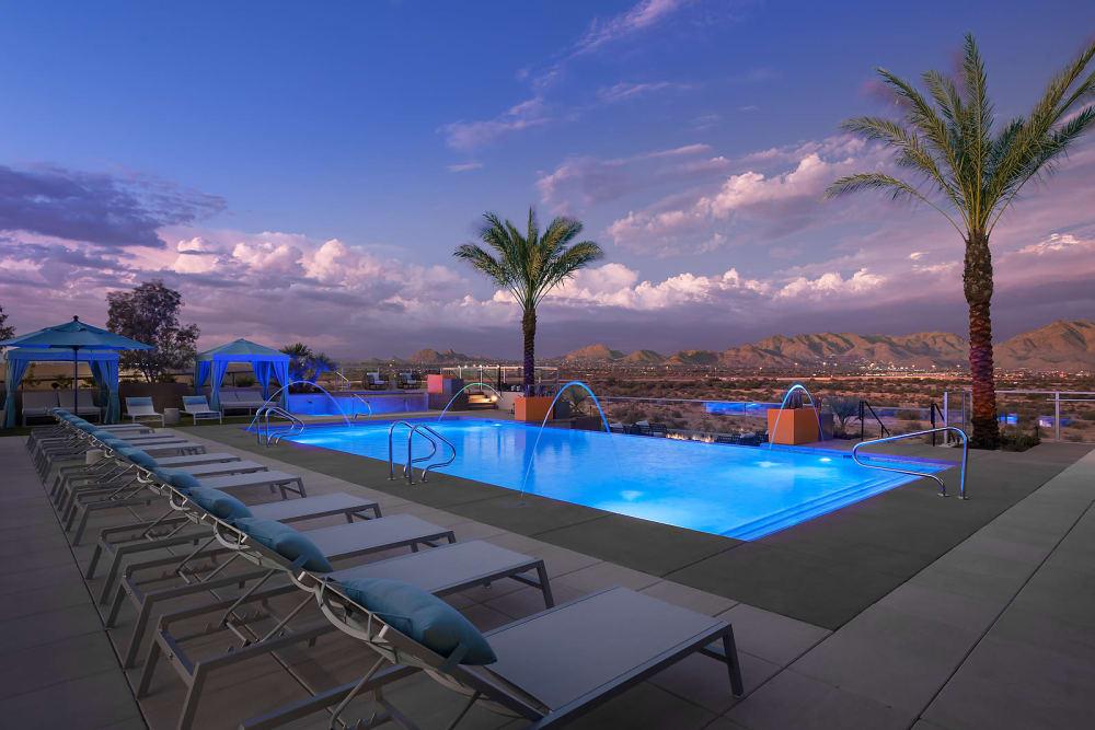 The Halsten apartments in Arizona