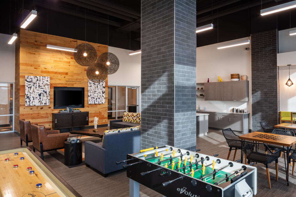 Interior clubhouse photo at Eaton Street Apartments in Westminster, Colorado