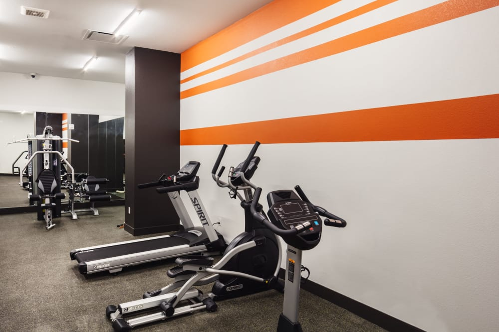 Fitness center at Eaton Street Apartments in Westminster, Colorado
