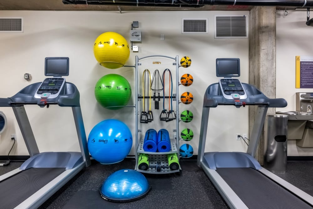 Fitness center at Anthem on 12th in Seattle, Washington