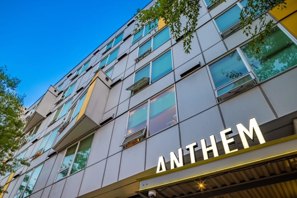 Exterior of Anthem on 12th in Seattle, Washington