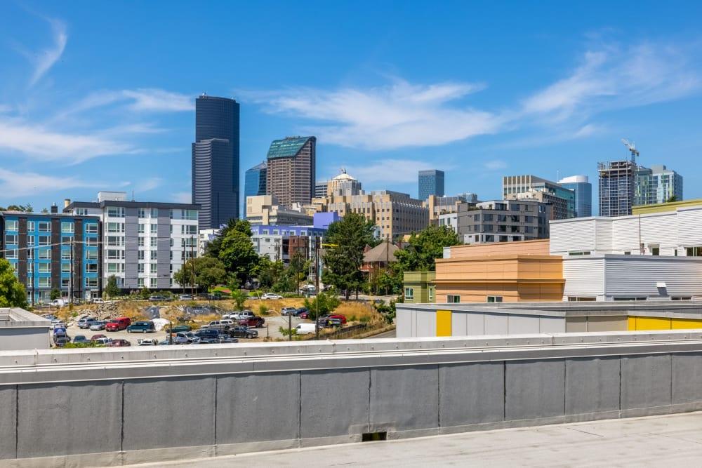 Skyline views at Anthem on 12th in Seattle, Washington