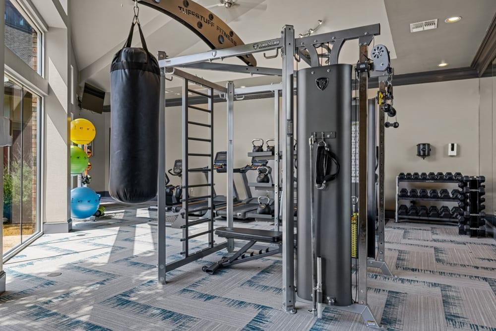 Fitness at Brooks on Preston in Plano, Texas