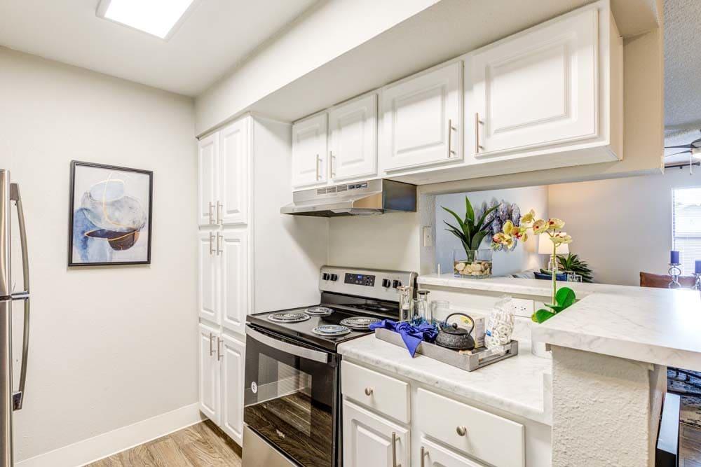 Spacious kitchen at Skyline in Thornton, Colorado