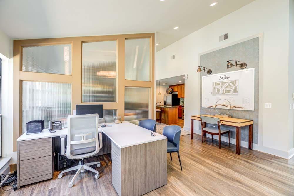 Open office at Skyline in Thornton, Colorado