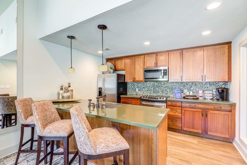 Kitchen at Skyline in Thornton, Colorado