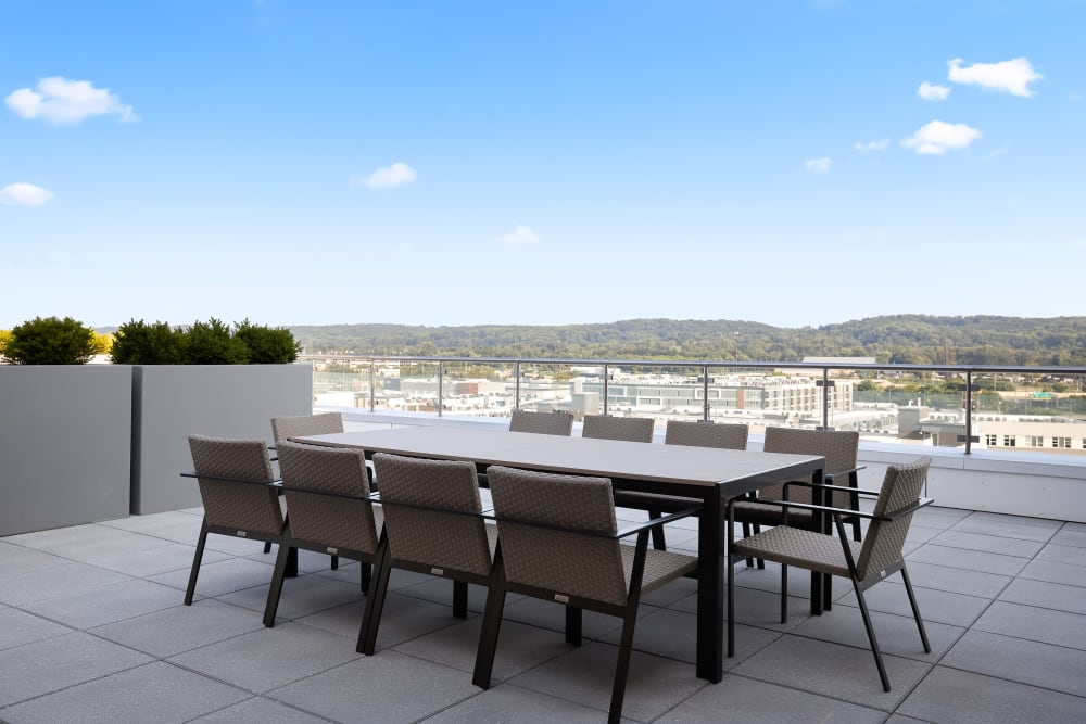 Outdoor dining at Anthology of King of Prussia – Now Open in King of Prussia, Pennsylvania