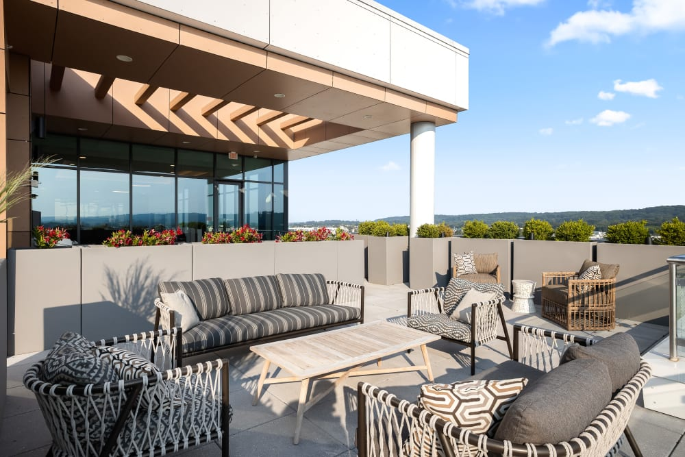 Balcony at Anthology of King of Prussia – Now Open in King of Prussia, Pennsylvania